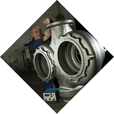 100% of castings are inspected before despatch.